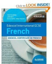 IGCSE/GCSE French books – EFrench Tuition Online