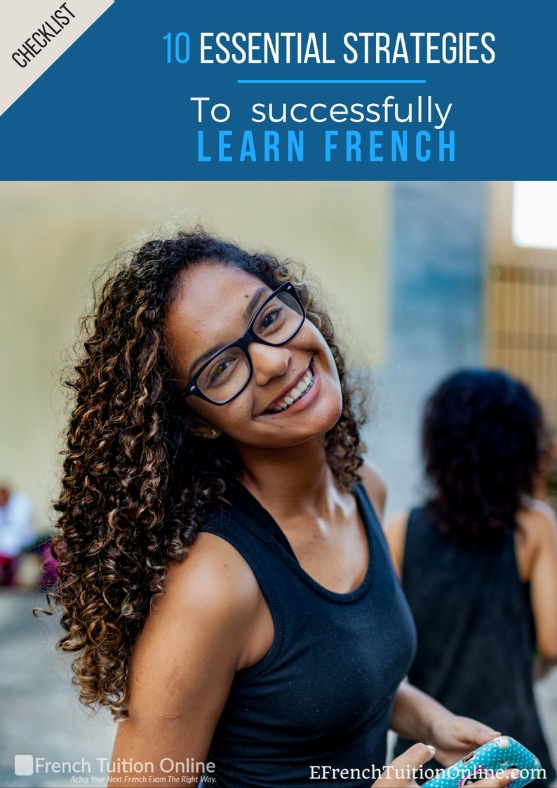 10 essential strategies to successfully learn French - Checklist